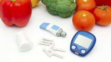 hero diabetes managemetn tools and veggies